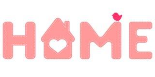 Sweet home Stock Image