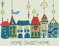 Sweet Home background Royalty Free Stock Image