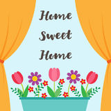 Sweet Home background Stock Photography