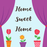 Sweet Home background Stock Photo