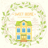 Sweet home Royalty Free Stock Images
