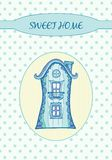 Sweet home - Card Stock Photo