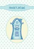 Sweet home - Card Stock Photo