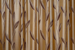 Sweet home curtain Royalty Free Stock Photo