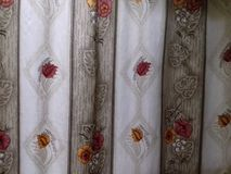 Sweet home curtain Royalty Free Stock Photos