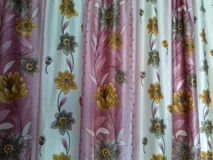 Sweet home curtain Stock Photo