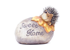 Sweet Home Garden Decor Stock Image