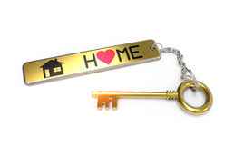 Sweet home key concept Royalty Free Stock Photo