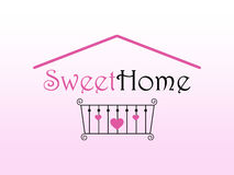 Sweet Home Logo Stock Images