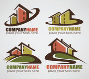 Sweet home logo Royalty Free Stock Images