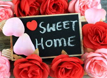 Sweet home sign Royalty Free Stock Images