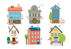 Sweet Home Vector Illustration Stock Photos