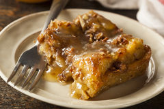 Sweet Homemade Bread Pudding Royalty Free Stock Images