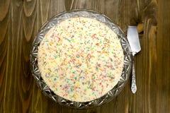 Sweet homemade cake Stock Images