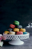 Sweet homemade macaroons Royalty Free Stock Image