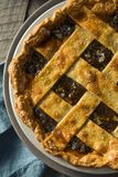 Sweet Homemade Mincemeat Pie Stock Image