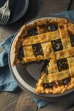 Sweet Homemade Mincemeat Pie Royalty Free Stock Photo