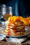 Sweet Homemade Pancakes Stock Photos