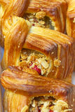 Sweet homemade pastry Stock Images