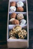 Sweet homemade pralines Royalty Free Stock Image