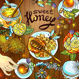 Sweet honey Stock Images
