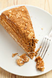 Sweet honey-cake Stock Image
