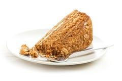 Sweet honey-cake Royalty Free Stock Image