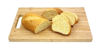 Sweet Honey Cornbread and Slices Stock Photos