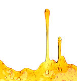 Sweet honey drips seamless royalty free stock photo