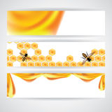Sweet honey  illustration, Royalty Free Stock Image