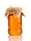 Sweet honey in jar Stock Photos