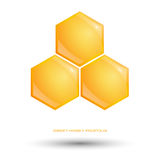 Sweet honey logo Stock Photo