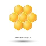 Sweet honey logo Stock Images