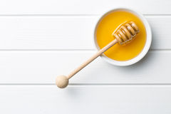 Sweet honey. Top view of sweet honey Royalty Free Stock Photos