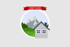 Sweet House Stock Image