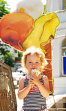 Sweet ice cream Royalty Free Stock Images
