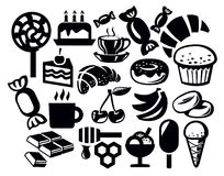 Sweet icon Royalty Free Stock Images