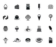 Sweet icons Stock Images