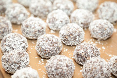 Sweet Indian coconut burfi Royalty Free Stock Images