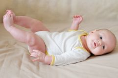 Sweet infant baby Royalty Free Stock Photos