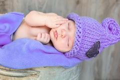 Sweet infant Royalty Free Stock Images