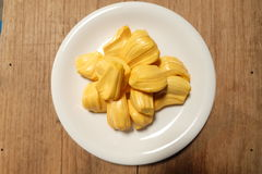 Sweet jack fruit yellow Stock Photos