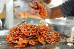 Sweet Jalebi Stock Image