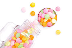 Sweet jar Stock Images