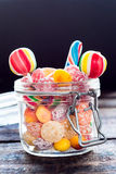 Sweet jar Royalty Free Stock Photography