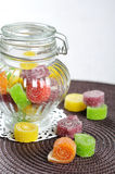 Sweet jelly candies Stock Images