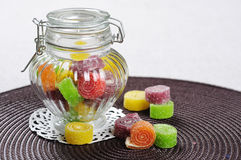 Sweet jelly candies Royalty Free Stock Photos