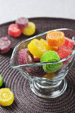 Sweet jelly candies Royalty Free Stock Image