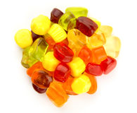 Sweet jelly candy Stock Photography