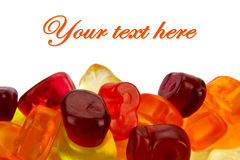 Sweet jelly candy Stock Photo